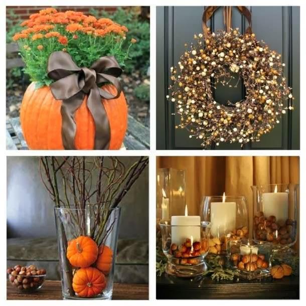 Interieur herfst decoratie inspiratie stijlvol styling wooninspiratie lifestyle blog - Composizioni autunnali casa ...