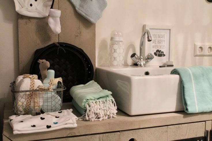 Interieur kids mintgroen babykamer kinderkamer inspiratie deel 1 stijlvol styling - Kleur kinderen slaapkamer ...