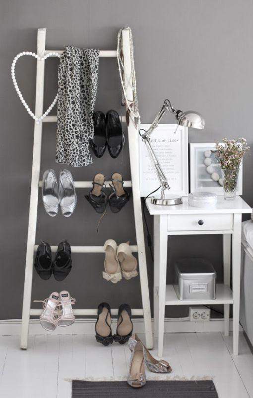 interieurtrends  de decoratieve houten ladder  stijlvol styling, Meubels Ideeën