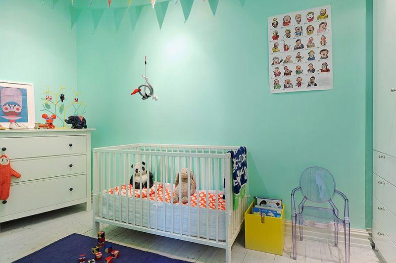 Interieur kids mintgroen babykamer kinderkamer inspiratie deel 1 stijlvol styling - Kinderkamer coloree ...