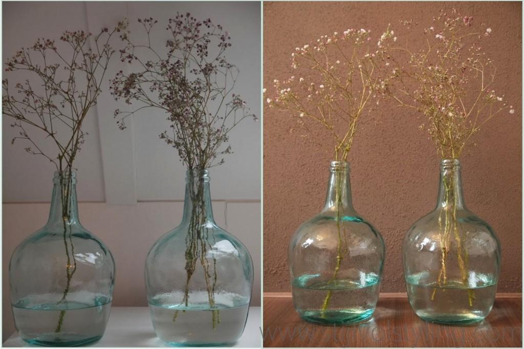 Interieurtrend   Vazen, kruiken & flessen van gekleurd glas ...