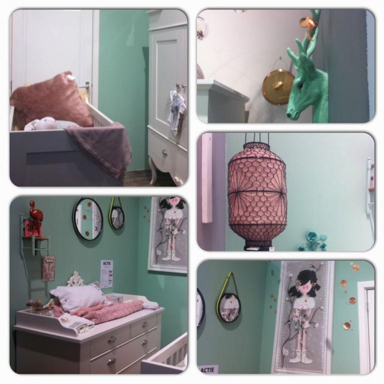 Interieur kids trendy babykamer inspiratie stijlvol styling woonblog - Decoratie roze kamer ...