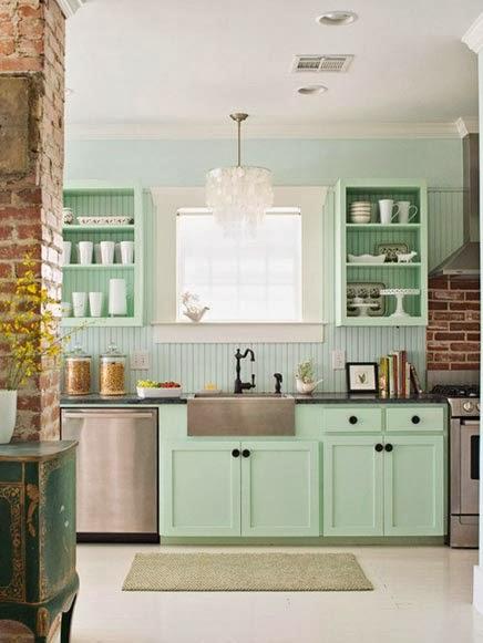 Groene Keuken Tieleman : Interieur & Kleur Mintgroen in jouw interieur (incl