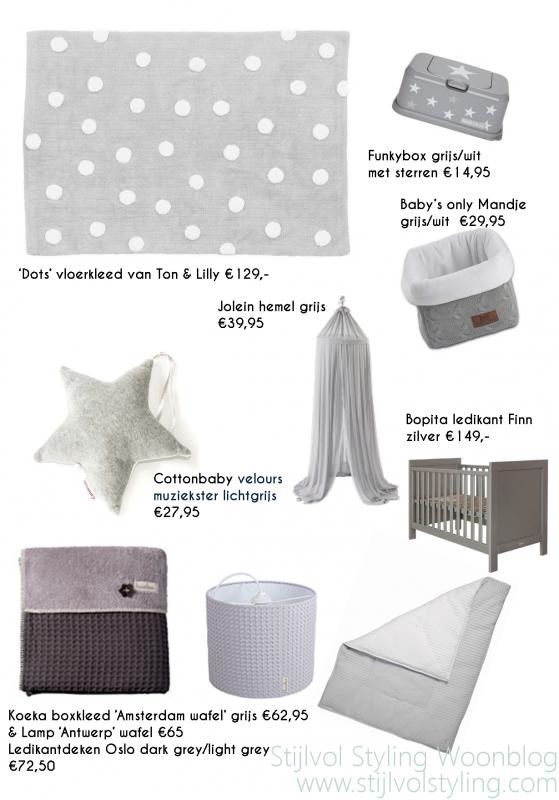 interieur & kids | babykamer en kinderkamer in grijs en wit, Deco ideeën